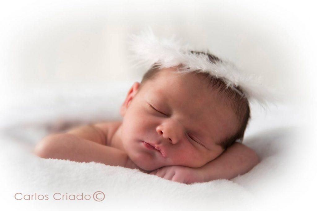 Fotografía de bebes en extremadura, autor Carlos Criado