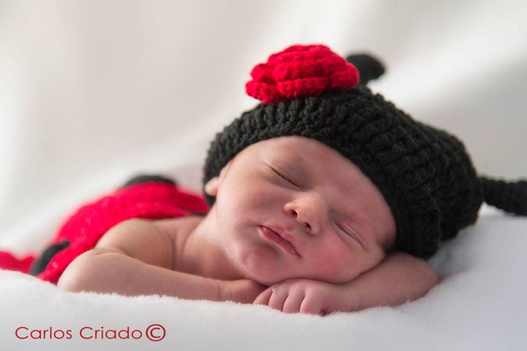 Fotografía de bebés en extremadura, fotógrafo Carlos Criado